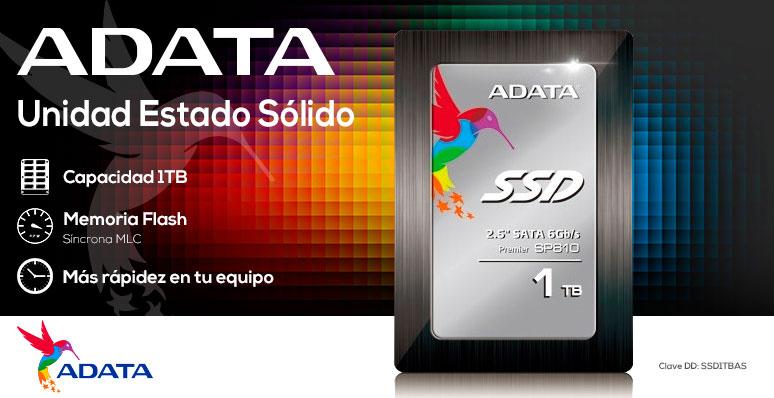 ADATA-Unidad en Estado Solido-SSD-ASP610SS3-potencia-1TB-mas rapidez