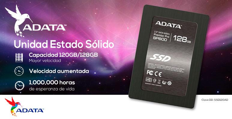ADATA-Unidad en Estado Solido-SSD-SP600-potencia-120GB-128GB-mas rapidez