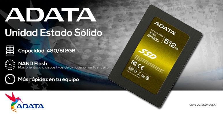 ADATA-Unidad en Estado Solido-SSD-SX900-potencia-480GB-512GB-mas rapidez