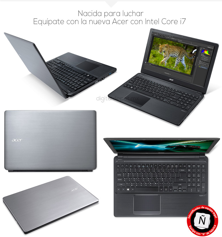 Acer-Laptop-Notebook-Aspire V5-Gamer-Intel Core i7-X4-4Gb Ram-1Tb DD-fotos
