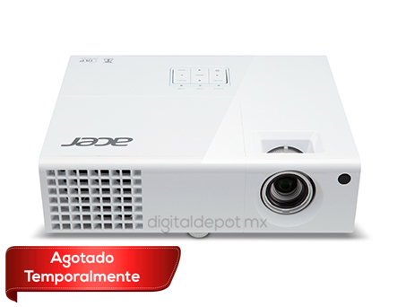 Acer-proyector-cañon-X1173a-blanco-3000 ANSI lumenes-lampara 10000hrs-2kg-3D-imagen-destacada