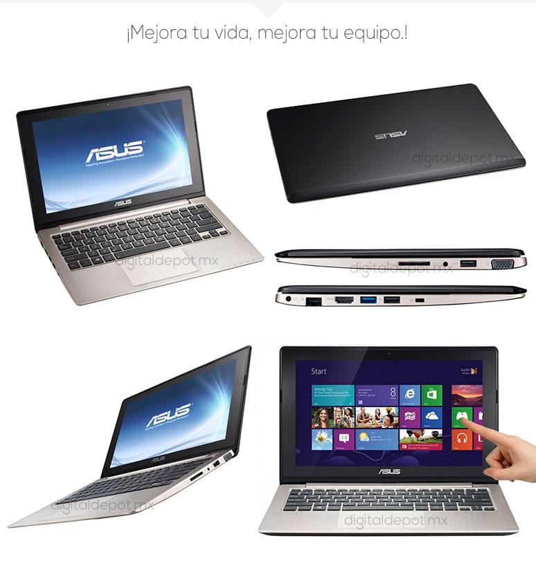 Asus-Laptop-Netbook-S202E-basica-Intel Celeron-2Gb Ram-1TB DD-fotos