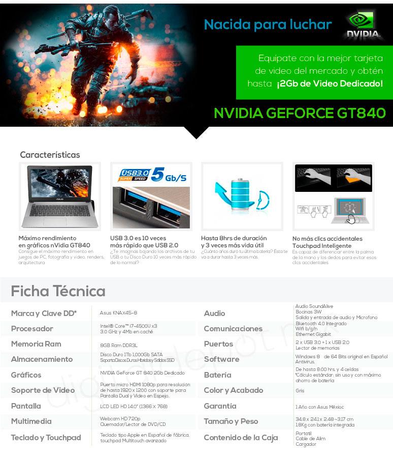 Asus-laptop-lap-x450ln-gamer-IntelCorei7-x4-8GBRAM-1TBDD-caracteristicas