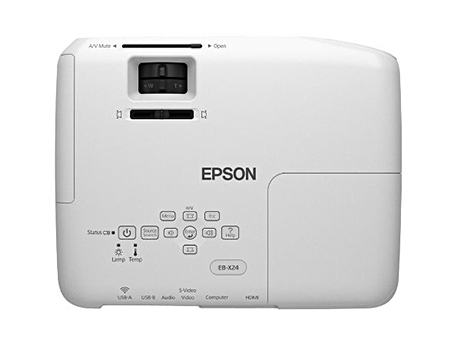 Epson-proyector-Cañon-powerlite-x24-nitidez-USB 3 en 1-Lector USB-Conexion inalambrica-imagen-destacada-3