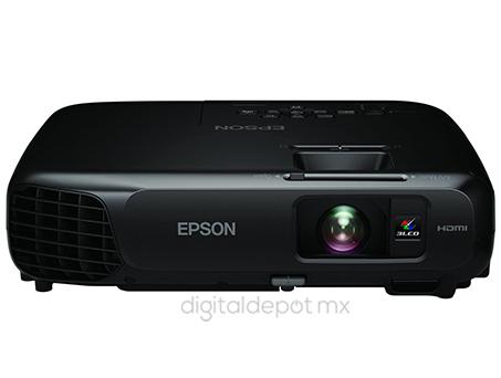 Epson-proyector-cañon-PowerLite s18+-nítido-3000 lumens-lampara 6000hrs-2.4kg-imagen-destacada