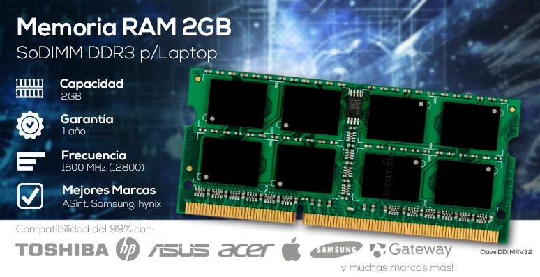 RAM-Memoria RAM-2GB-DDR3-SODIMM-ASINT-SAMSUNG-HYNIX