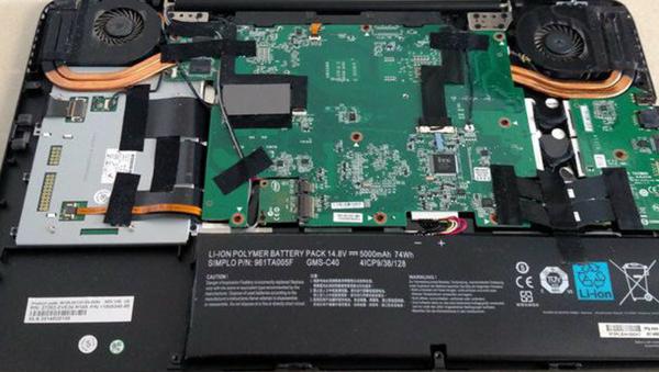 Respaldo en Reparación de laptop Razer en Guadalajara