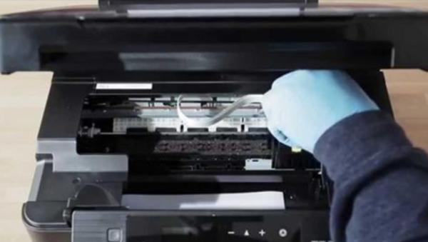 Cambio en reparación de impresora Epson en Guadalajara