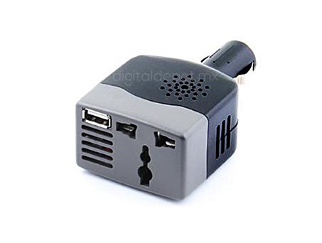 Sabrent-Convertidor de corriente-AC-12VDC-para Automovil-100 watts-voltaje DC11V-15V-compatible con varios dispositivos-imagen-destacada