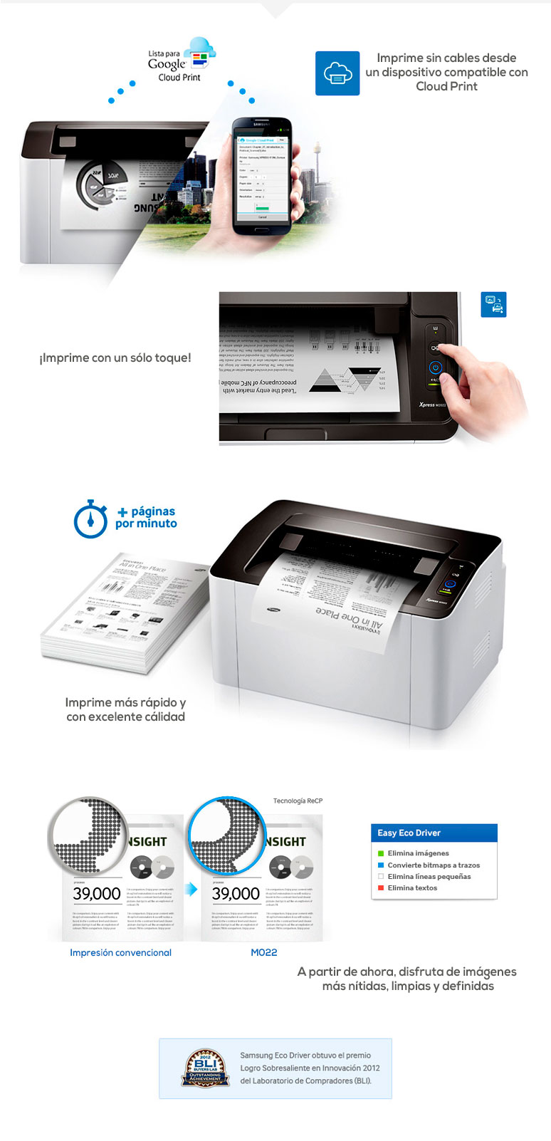 Samsung-Impresora-Printer-Xpress-Rellenable-Laser-BN-fotos