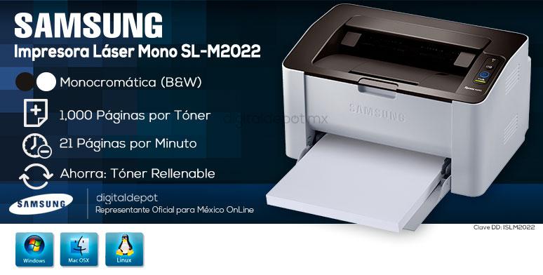 Samsung-Impresora-Printer-Xpress-Rellenable-Laser-BN
