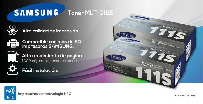 Samsung-Toner-MLT-D111S-economico-hasta 1000 paginas