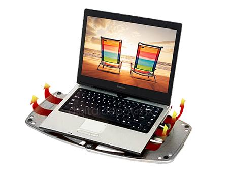 Targus-base enfriadora laptop-portable LapDesk-desplegable-facil instalacion-canales de ventilacion-antideslizante-imagen-destacada