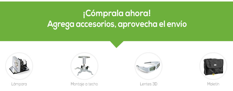 accesorios-proyector-Acer-X1173a-3D