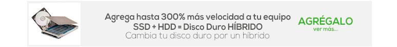 agrega velocidad-laptop-mejora-Unidad Estado Solido-SSD-Disco Duro Hibrido-HDD