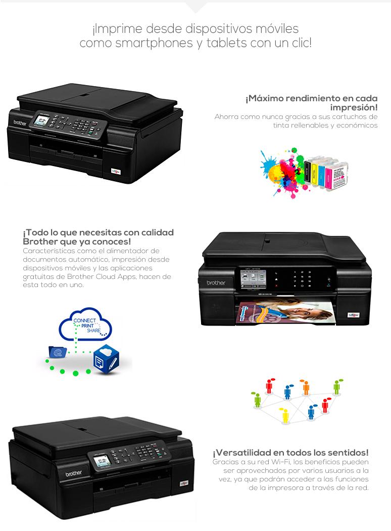 brother-multifuncional-print-mfc-j470dw-rapida-pantalla lcd a color-web connect-facil configuracion inalambrica-fotos