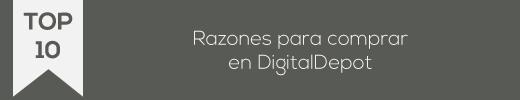 Razones y opiniones para comprar en Digital Depot