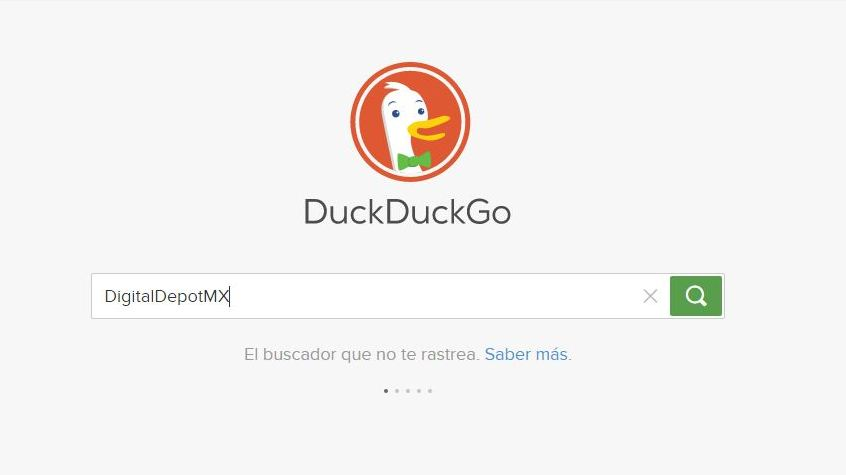 DigitalDepot en Duck Duck Go