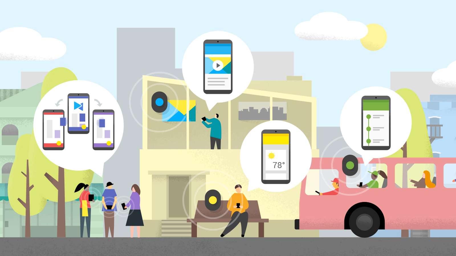 google-nearby-balizas-futuro-conexiones-dispositivos-conectividad-streaming-digitaldepot