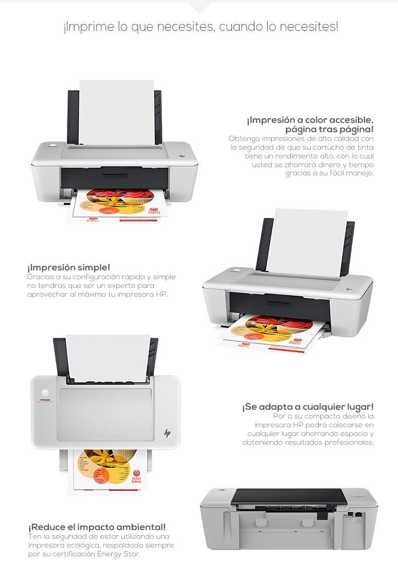 hp-impresora-print-deskjet ink advantage-1015-laser-resolucion de 600 x 600-inyecciontermica de tinta color-gran velocidad de impresion-fotos