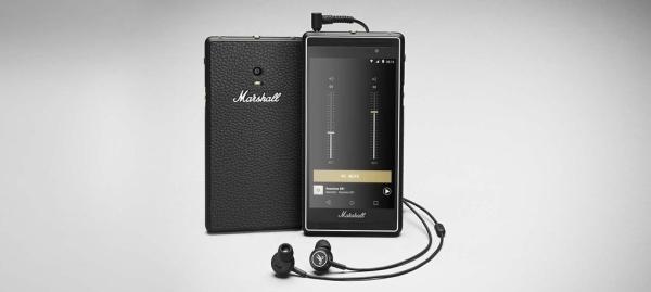 El celular rocker: Marshall