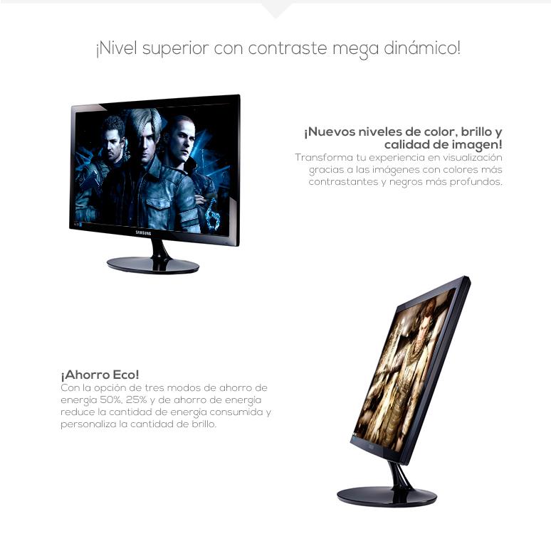 samsung-monitor-pantalla-s22d300hy-elegante-retroiluminacion led-5ms de respuesta-pantalla panoramica-fotos